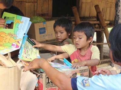 Jungle Aid donated items
