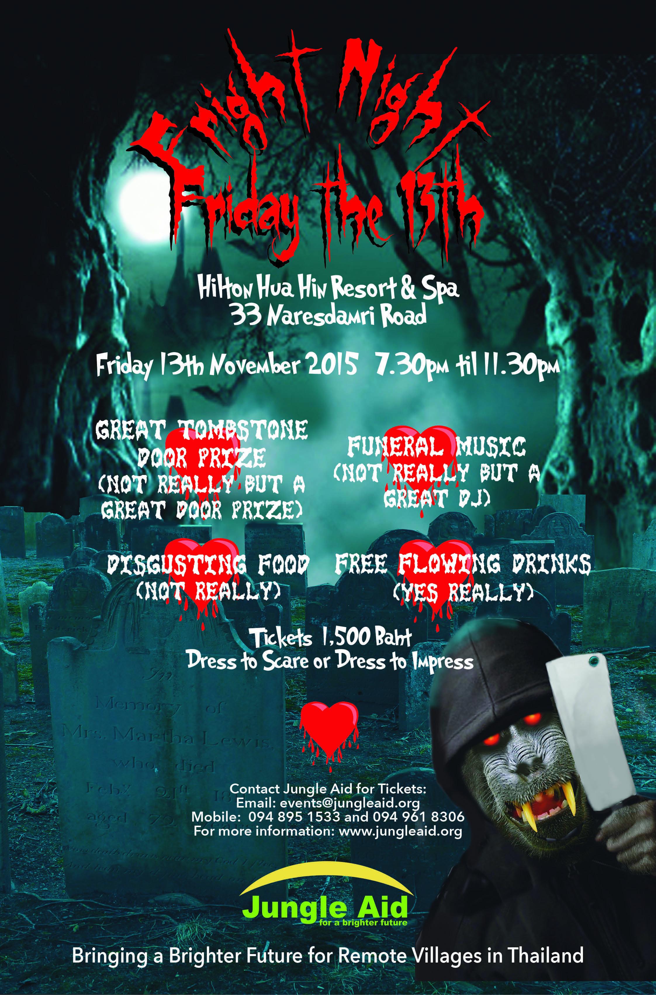 Fright Night Friday the 13th November