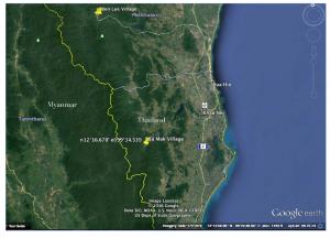 Ba Mak map