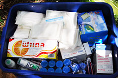 Sponsor Our Medical Kit Bags