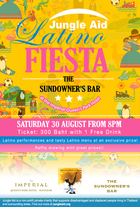 Latina Fiesta FLyer