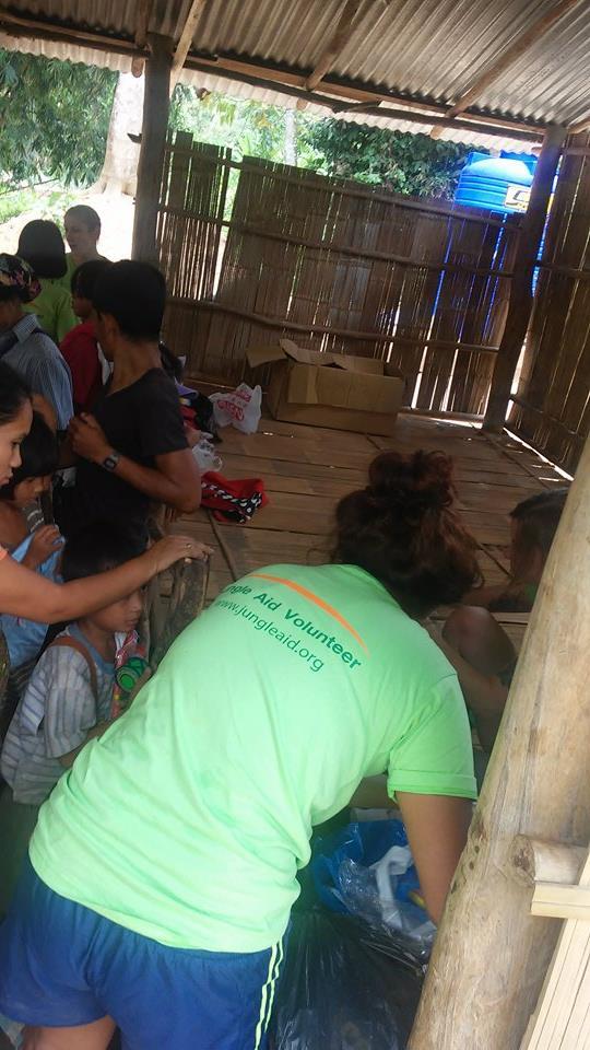Jungle aid remote medical clinic